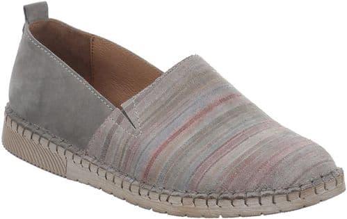 Josef Seibel Sofie 02 Slip On Ladies Shoes Graphite